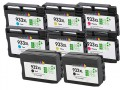 HP 932XL - 933XL (D8J69FN) 8-Pack HP Compatible Extra High-Capacity Premium ink Cartridges