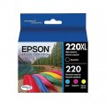 Epson 220XL - T220XL (T220XL120 - T22420) ink Cartridges - 4 Pack