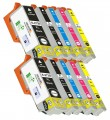 Epson 273XL- T273XL 10-Pack Extra High-Capacity Epson Compatible ink Cartridges