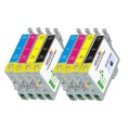 Epson T1261- T1264 (T126120, T126220, T126320, T126420) 8-Pack Epson Compatible Premium ink Cartridges