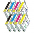 Epson 288XL (T288XL-BCS) 8 Pack Epson Compatible High-Capacity Premium ink Cartridges